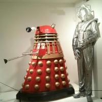 Dalek and Cyberman