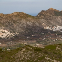 View from Coll de Rates, Spain