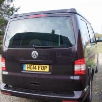 VW T5 converted to campervan