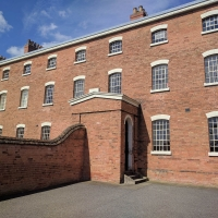 Southwell Workhouse, mens excercise yard