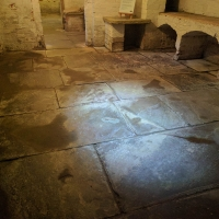 Southwell Workhouse cellars, notice the rats