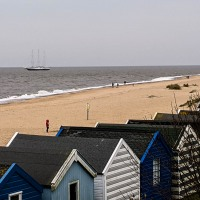 Steves Birthday at Southwold, Suffolk