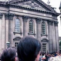 Graduation day, Senate House, Cambridge