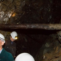 Berkshire branch of the Cambridge Society visit to Dolaucothi Gold mine