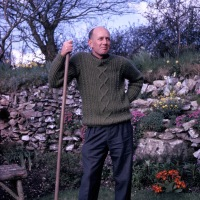 Mike at Linnington Cottage, Wambrook, Chard 1963