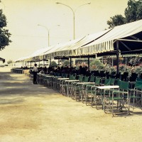 Cafe on the sea front at Thessaloniki