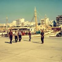 Fishing port at Alexandroupolis