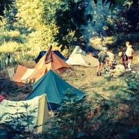 The camp site on Samothraki