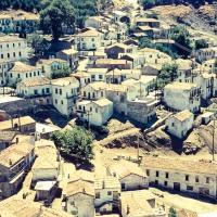 The village of Hora on Samothraki
