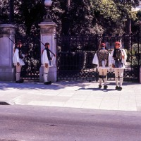 Guards at the Royal Palace, Athens