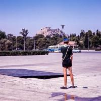 Acrpolis from near the Stadium, Athens