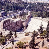 Theatre from Acropolis, Athens