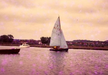 Enterprise sailing