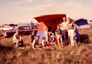Camping, North Norfolk