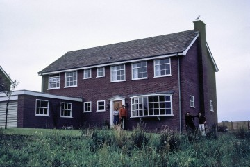 Joan Blasdale, Christopher Blasdale, Stephen Blasdale, Peter Blasdale their house in Macclesfield