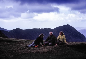 Betty and Mike on Holiday with the Gawthrops in the Lake District