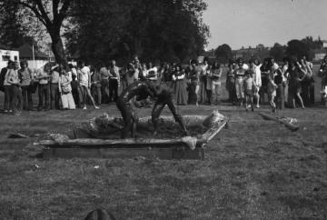 Strawberry Fair, mud wrestling