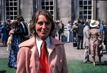 Betty Blasdale at my graduation day, Senate House, Cambridge