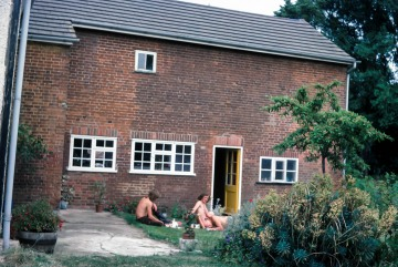 Lodge Farm, Gisslingham. Stephen, Peter and Mike