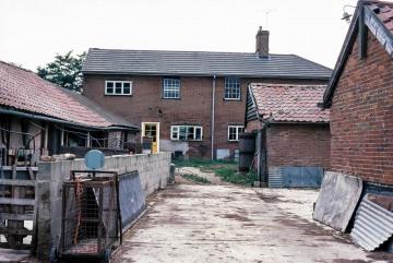 Lodge Farm, Gisslingham. The old pig buildings