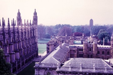 From Great St Mary's, the University Church, Cambridge
