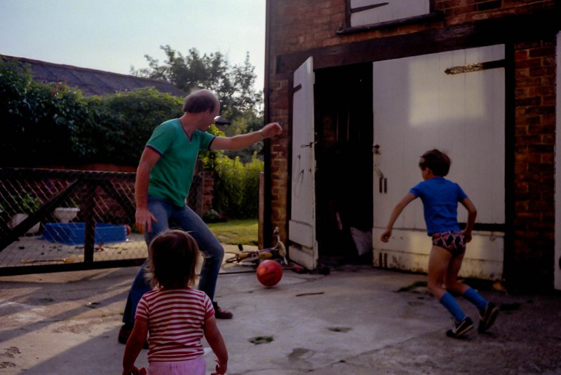 Football with the neighbours
