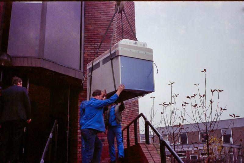IBM 4341 being delivered to Altergo