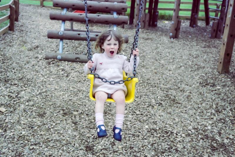 Selina at LaGrande Mare playground