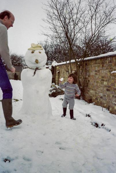 Steve and Snow Woman