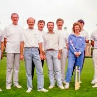 Walker Customer Cricket Match