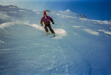Skiing in Courcheval
