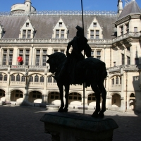 Pierrefonds, Merlin castle, France 2009