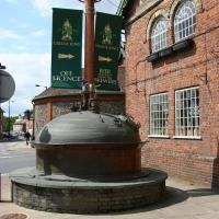 Greene King brewery tour