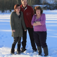 Selina, Rosemary and Phil
