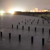 Vazon Bay by night, Guernsey, 2010