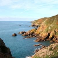 Guernsey cliff path, 2010