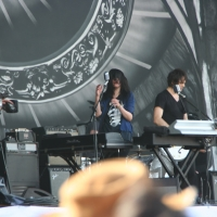 The Dead Weather at Pyramid Stage Glastonbury