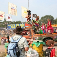 Carnival drive through at West Holts