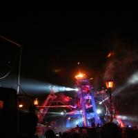 Arcadia techno dance area