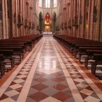 Ecuadorr, Quito. Basilica of the National Vow.
