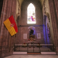Ecuador, Quito. Basilica of the National Vow.