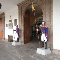 Ecuador, Quito. Presidential Palace