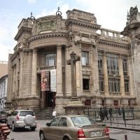 Ecuador, Quito. An old bank building