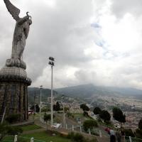 Ecuador, Quito, El Panecillo, the Virgin