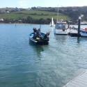 Tony and David on ferry