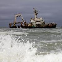 Skeleton coast the ship wreck Zeila