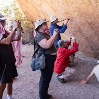Rock art at Spitzkoppe