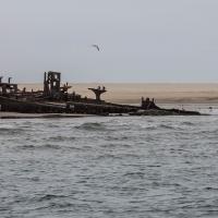 Boat trip from Walvis Bay - Wreck