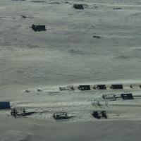 Old diamond camp in Namibia
