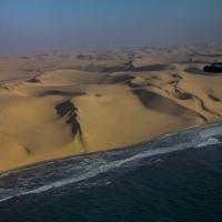 Namibia coast line, dunes